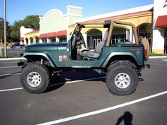 MUST SELL 1994 lifted jeep wrangler 4 sale