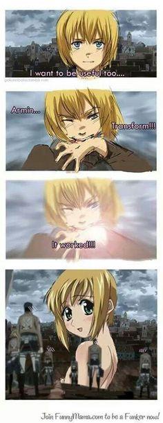 Armin. Shingeki no Kyojin ♥