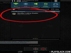 Sevilla Latina Radio  Android App - playslack.com , Una sencilla aplicación para que tengas en tu dispositivo nuestra Radio on line Sevilla Latina Radio de España.--24 horas de Música variada.--Música en la nube--Sistema de notificaciones (Registrate para recibir notificaciones cuando subamos más música a la nube o un Dj esté en vivo)--Ubicación de oyentes(Cuando escuchan la radio y no la nube)--Petición de canciones (Debes escribir correctamente el titulo y artista para que el sistema lo…