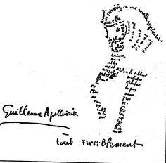 This is a poem, I care literature, I do! Tristan Tzara, Georges Braque, Poesia Visual, Emil Nolde, Kurt Schwitters, Accordion Book, Jean Arp, Marcel Duchamp, Dream Book