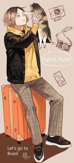 Haikyuu Nekoma, Kenma Kozume, Haikyuu Manga, Kuroken, Haikyuu Fanart, Haikyuu Ships, Karasuno, Akaashi Keiji Hot, Haikyuu Characters