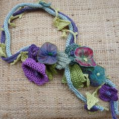 Crochet braided Blanket ~ pattern available.