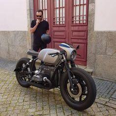 BMW R cafe racer custom - Farklı Motor Çeşitleri Bike Bmw, Cafe Racer Motorcycle, Cool Motorcycles, Cafe Racer Headlight, Cafe Racer Tank, Cafe Racer Build, R Cafe, Car Bike Rack, Bmw Boxer