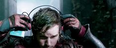 Pin for Later: A Lesson in Dancing With the Internet's Greatest Guardians of the Galaxy GIFs Headphones on.