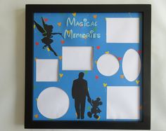 Disney Themed Picture Frame Frames Collage Mickey Mouse Walt Disney World Tinkerbell Partners Disney Vacation Multi Photo Home Decor Gift Disney Collage, Collage Picture Frames, Multi Photo, Disney Style, Disney Vacations, Disney Inspired, Tinkerbell, Framed Art, Mickey Mouse
