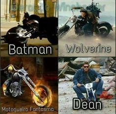 We told you Dean was batman