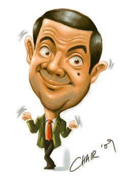 Cartoon Caricatures | Mr. Bean caricature by Chairgoh on deviantART