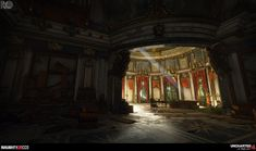 ArtStation - Uncharted 4 : Avery's Palace, Rogelio Olguin