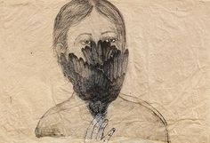 A Passion for Drawing Kiki Smith, Woman Painting, Painting & Drawing, Etching Prints, Bird Drawings, Art Studies, Book Cover Design, Famous Artists, Watercolor And Ink