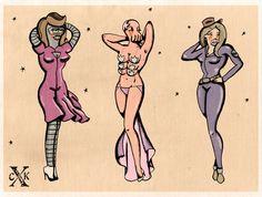 Sailor Futurama Art Print