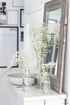 KUKKALA: Kesäjuhlakukkavinkki: harsokukka Dream Beach Houses, Vintage Wedding Theme, Gypsophila, Interior Plants, Home Staging, Beautiful Interiors, Interiores Design, Planting Flowers, Interior Decorating