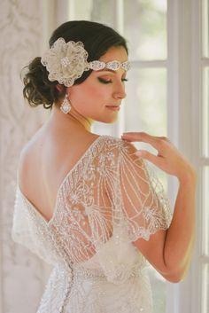 Show me you vintage or vintage inspired wedding dress! - Jasmine Couture. Weddingbee