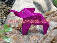 оригами птицы и звери