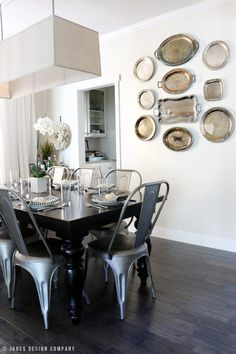 dining room / fall home tour / jones design company