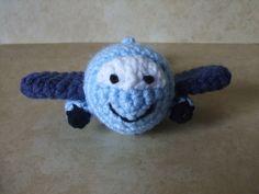 Free Pattern. Ermplane Named Big Jet | The Craft Frog