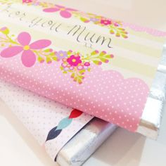 FREE printable chocolate bar wrapper for mother's day | Tiges and Weince - Kylie Loy