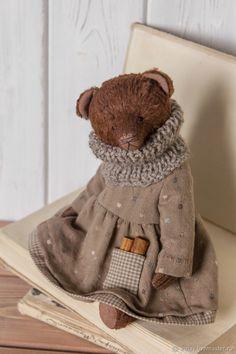 Мишка Тедди. Каппучино с корицей – купить или заказать в интернет-магазине на Ярмарке Мастеров | Холодными осенними вечерами так и хочется…