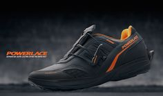 The new Powerlace auto-lacing system is the most effective means of tying shoelaces the hands-free way.