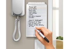 Hanging Ceramic Whiteboard Notepad