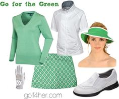"""""""Go for the Green"""" by golf4her on Polyvore"""