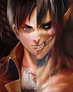 // i love thissssss - #ErenJaeger #Titan #RogueTitan #TitanEren - - - - - {…