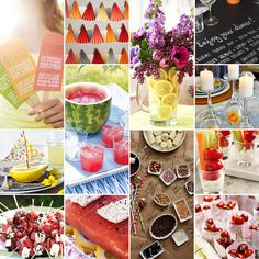 NewYorkDress Blog // Pinterest Party Planner // Click through for #summer party #inspiration!