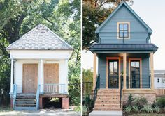 Fixer Upper Season 3 The Shotgun House Before and After