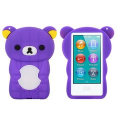 Happy Bear (Lilla) iPod Nano 7 Deksler Ipad Nano, Workout Videos, Ipod, Bear, Cover, Happy, Ipods, Blankets, Bears
