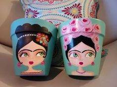Flower Pot Art, Flower Pot Crafts, Clay Pot Crafts, Fun Crafts, Diy And Crafts, Painted Plant Pots, Painted Flower Pots, Flower Pot People, Pottery Painting Designs