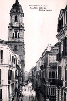 Postcards of the Past - Malaga, Spain
