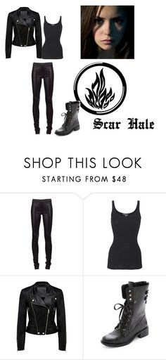 """divergent chapter 2"" by srlan ❤ liked on Polyvore featuring Drome, Vince, Forever New and Sam Edelman"