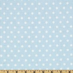 Petal French Dots Blue from @fabricdotcom  Designed by Tanya Whelan for Free Spirit Fabrics, this cotton print is perfect for quilting and craft projects as well as apparel and home décor accents.