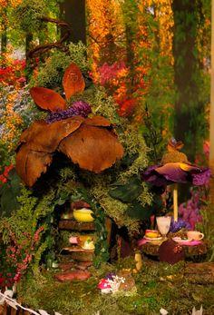 Fairy House Fairy Bakery Miniature House by WoodlandFairyVillage, $54.99