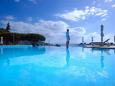 St Nicolas Bay Hotel is distinctive in its spacious stone and whitewashed buildings, its small clusters of rooms or more individual suites and bungalows overlooking the Mirabello Bay, and its private sandy beach is awarded with the Blue Flag of E.U.