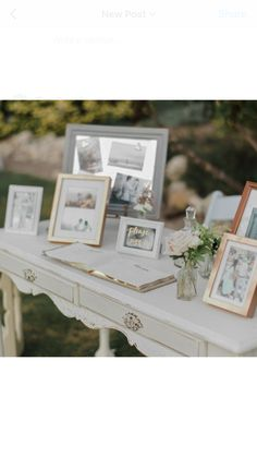 Miscellanea sign in table for garden wedding