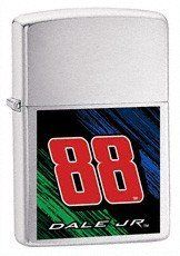 Dale Earnhardt, Jr. Combo Zippo by NASCAR. $46.68. The NASCAR(r) driver lighter from Zippo(r) is decorated in the team colors and designed with a high-polish chrome finish. This high-quality lighter is designed with the driver's pad printed graphics on the front.