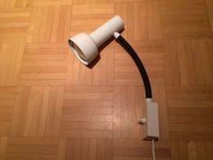 Schweizer Megal Spot Lampe Wandlampe 60s Desk Lamp, Table Lamp, Wall Lights, Lighting, Design, Home Decor, Swiss Guard, Light Fixtures, Appliques