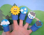 Funny Etsy Shop with Finger Puppets