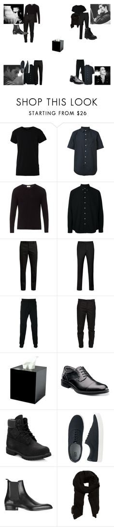 """The Guys At Allison's Funeral"" by teen-wolf-24 ❤ liked on Polyvore featuring Numero00, rag & bone, American Vintage, Schnayderman's, Yves Saint Laurent, Ted Baker, Dsquared2, Maison Margiela, Mike + Ally and Florsheim"