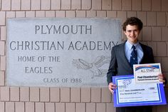 Congratulations to Paul Chamberlain! | Plymouth Christian Academy - Canton, MI Christian K-12 School