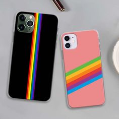 Gay Lesbian LGBT Rainbow Flag Pride ART Phone Cases For Apple Iphone 11 Pro Max X XR XS MAX 11 Pro 7 8 6 6S Plus 5 5S SE Hard Co