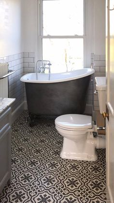 Since it's launch, our Tubby Tub Roll Top Bath has been a hit. Small, deep and really comfortable. At only long, its perfect for the small bathroom. Bathroom Images, Bathroom Trends, Bathroom Design Small, Bathroom Layout, Bathroom Interior Design, Modern Bathroom, Beautiful Bathrooms, Budget Bathroom, Bathroom Ideas
