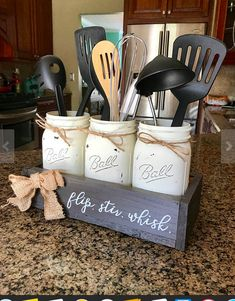 How cute is this idea? I think it could be made at home. #shabbychic #farmhouse #masonjar #DIY #ad