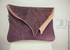 Лист макси - коричневый,однотонный,Красивая сумка,сумка женская,сумка для документов