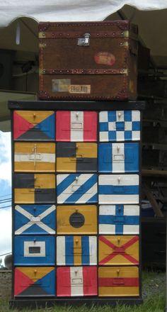 #nautical inspiration from #brimfield