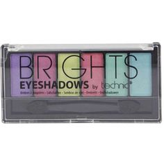 Boohoo Bright Eyeshadow Six Palette ($4) ❤ liked on Polyvore featuring beauty products, makeup, eye makeup, eyeshadow, beauty, eyes and palette eyeshadow