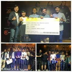 Repost @universalmusicmalaysia -  Congratulations to all the winners tonight!!! Everyone did a fantastic job!! Grand Prize Winner: BEATBURNS First Runner Up: MODESCAPE Second Runner Up: JOSIE & THE BROKE'D MINDERS