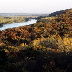 Indian Cave State Park, Nebraska..love camping here in the fall!