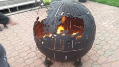 With the buzz still surrounding the latest Star Wars film and the anticipation of long summer nights, Farmington Metal Firepits unites the two in a playful