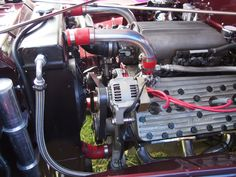 An 8 BA block sporting FlatAttack heads and fuel injection in a Jeep